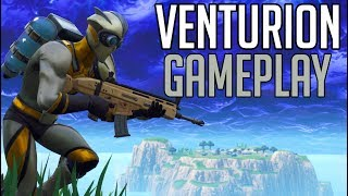 *NEW SKIN* - VENTURION - FORTNITE Battle Royale [No Commentary Gameplay]
