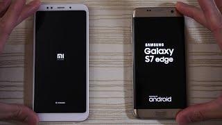 Xiaomi Redmi 5 Plus vs S7 Edge - New Budget Phone Beat an Old Flagship?