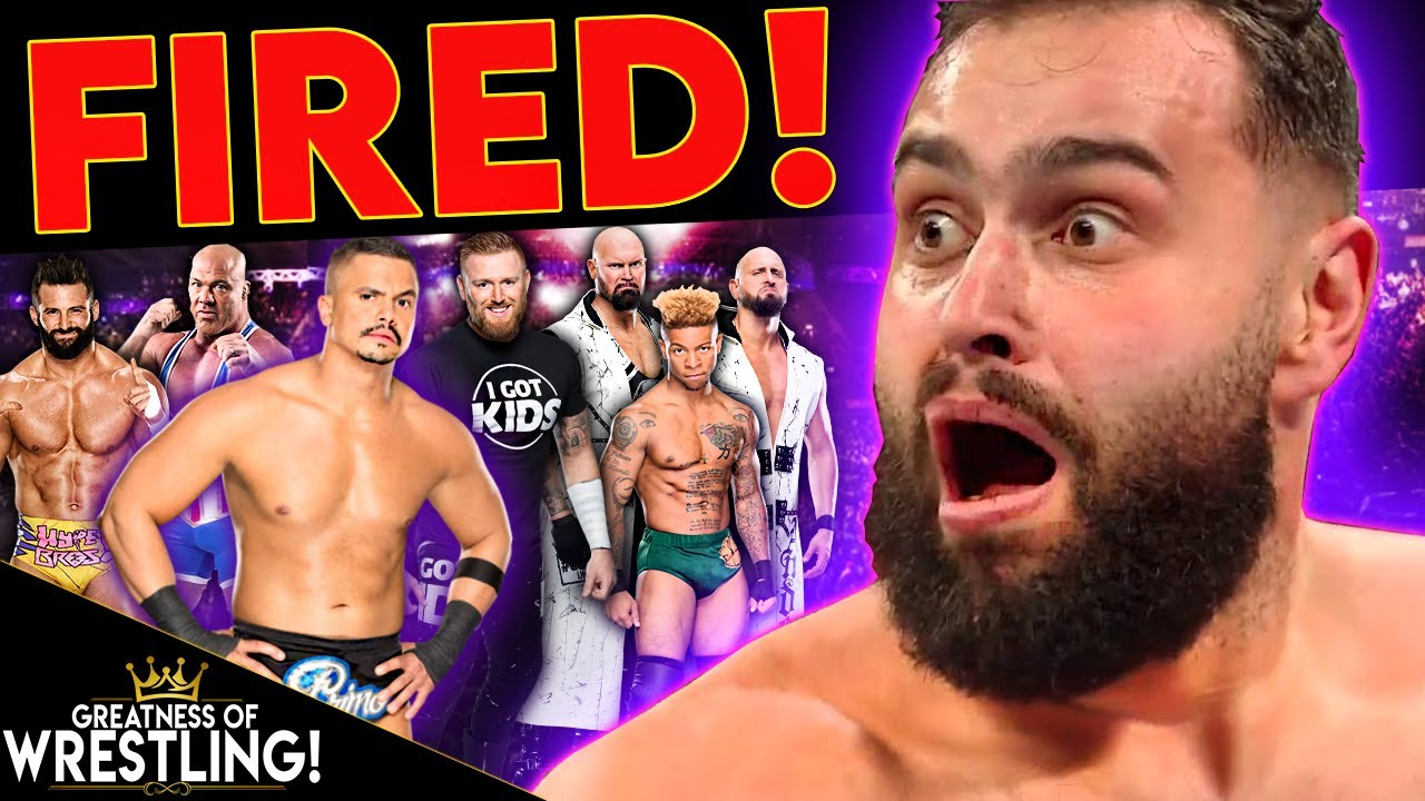 WHAT?! WWE Fired OVER 20 Wrestlers! (Rusev, Zack Ryder, Heath Slater, EC3 &  More!) - YouTube