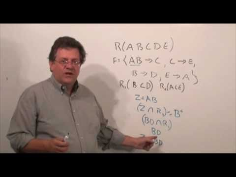 UHCL 26a Graduate Database Course - Preserving Dependencies