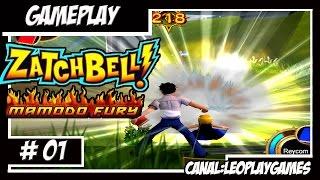 Zatch Bell! Mamodo Fury GamePlay PTBR #1 Nostálgia Zatch Bell! Jogo foda!! PS2/CUBE