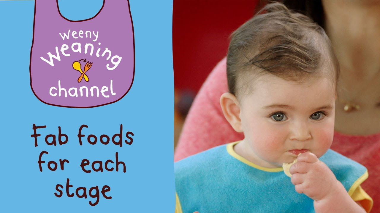 Fun finger foods for weaning | Ella\'s Kitchen - YouTube