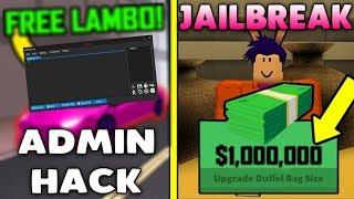 Roblox Jailbreak Money Admin Hack/Script [WORKING] [18-May-19]