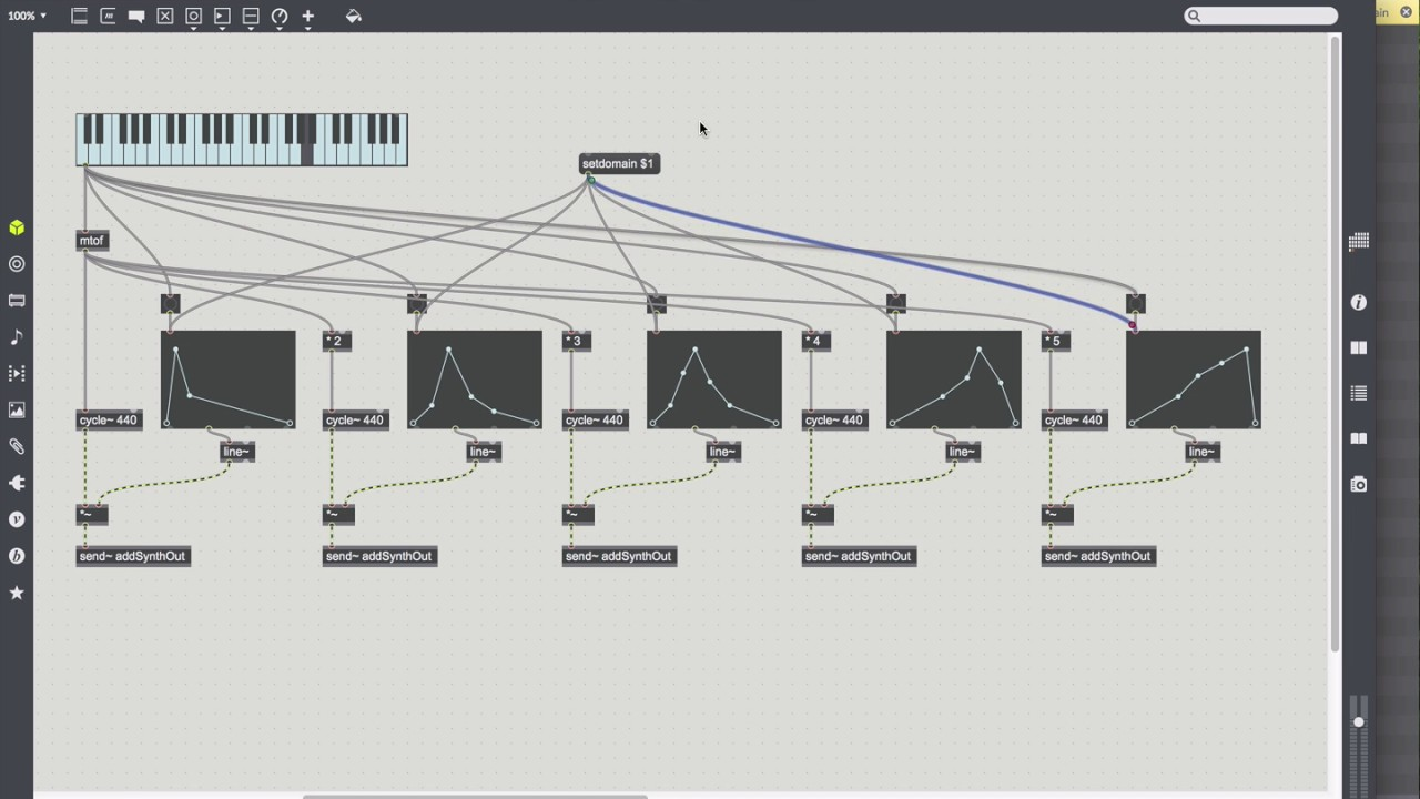 Max 7 Tutorials: 5 1 Basic Synthesis—building an additive synth