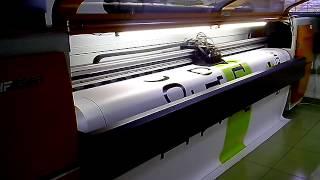 Печать баннера(Печать баннера на струйном принтере (плоттере) в рекламной мастерской