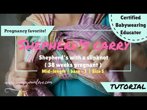 Shepherd's Carry by Wrap You in Love