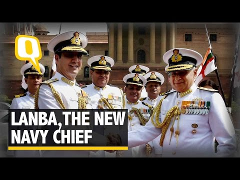 The Quint: Vice Admiral Sunil Lanba takes Charge as Chief of Naval Staff
