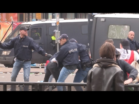 Rellen breken los in Rotterdam