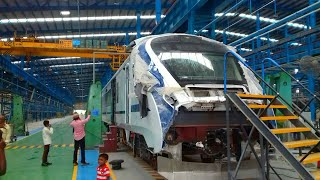 Inside India's LARGEST RAIL COACH MANUFACTURING FACTORY! || INTEGRAL COACH FACTORY (ICF)!