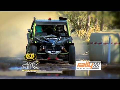 Full Power Stage Program - Rally Australia - ECB ARC 2015