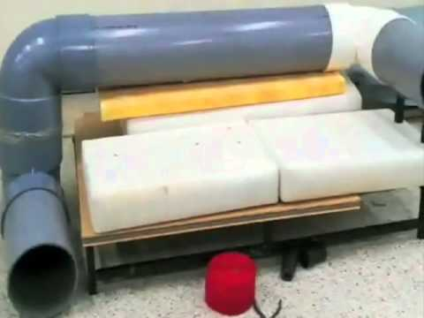 A grande ideia designer cria sof com t nel para gatos - Sofas para gatos ...