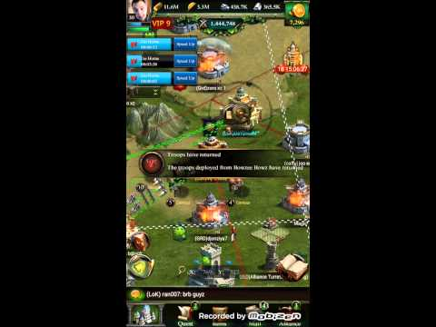 Clash Of Kings War Time Time To Collect :) Farms