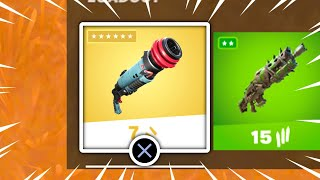 New MYTHIC WEAPON Added in Fortnite Update!