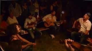 Jam on 'Night & Day' at the campsite in Samoreau - Samois sur Seine 2015