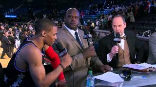 Inside the NBA: Russell Westbrook Postgame Interview | Feb 15, 2015 | 2015 NBA All-Star Game
