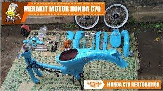 Video #C70RESTORATION | Merakit Motor Honda C70 Lur | #pitungtraveler download MP3, 3GP, MP4, WEBM, AVI, FLV Agustus 2018