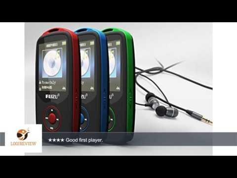 RUIZU X06 Wireless Bluetooth Mp3 Player with FM Radio 4GB (Red) | Review/Test