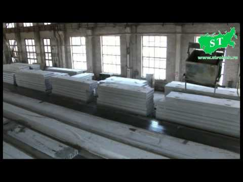 Производство плит перекрытия на оборудовании НПЦ СТРОЙТЕХ  на Краснотурьинском заводе ЖБИ