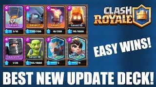 CLASH ROYALE | BEST NEW UPDATE DECK! | EASY WINS! | ARENAS 7-9