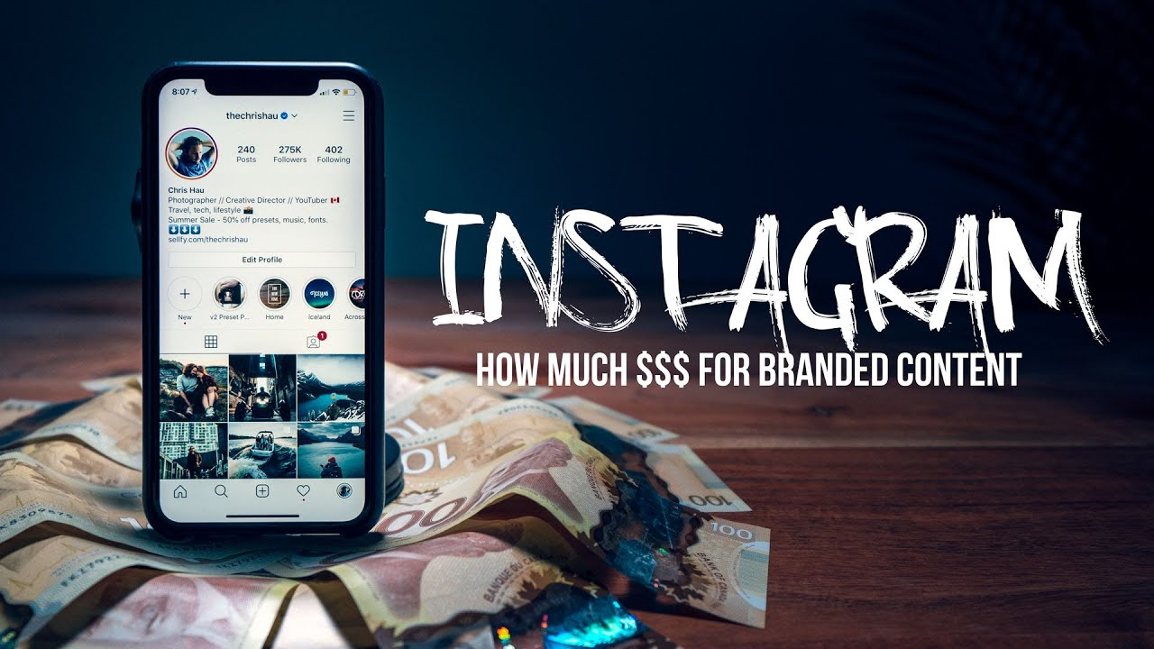 How much money do INFLUENCERS make off sponsored content? (REAL