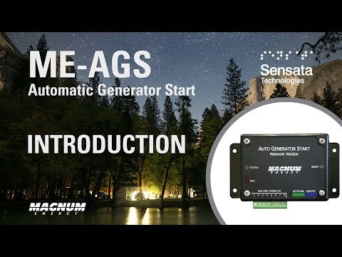 Get to Know the ME-AGS Auto Gen Start