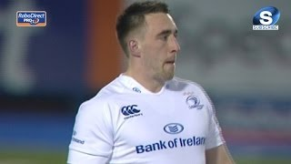 Debut Try for Jack Conan - Cardiff Blues v Leinster 20th Feb 2014