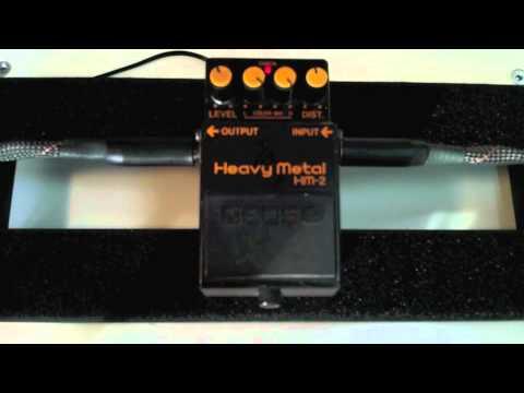 19 metal pedal shootout boss hm 2 guitar distortion high gain fuzz comparison youtube. Black Bedroom Furniture Sets. Home Design Ideas