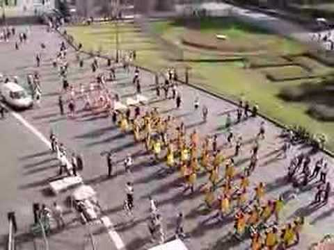 USC Marching Trojans at the Roman