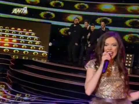 Nikki Ponte - X Factor 3 Greece - Live Show 11 - Opening (Burlesque)