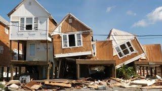 ארצות הברית פלורידה סופה הוריקן מייקל ב ארה