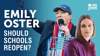 Should Schools Reopen? Emily Oster brings the data. | Andrew Yang | Yang Speaks