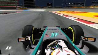 Grand Prix 4 - 2015 - Lewis Hamilton - Bahrain International Circuit - Onboard Lap