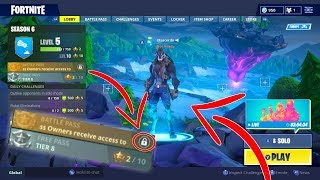 How to get the Fortnite Tier 100 DIRE Skin WITHOUT The Battlepass