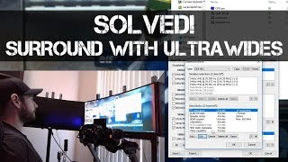 SOLVED! - How to make nVidia Surround work on Ultrawide Displays