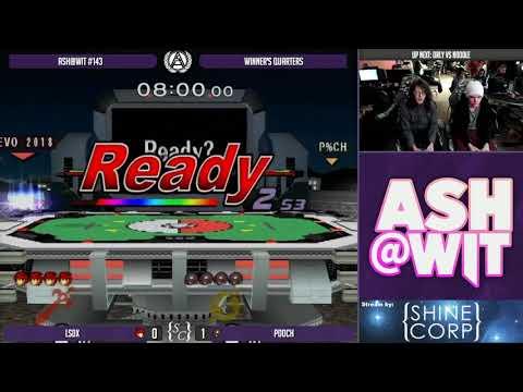 LSDX (Roy) vs Pooch (Samus) - ASH@WIT #143...