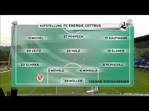 Stuttgarter Kickers - FC Energie Cottbus  in voller Länge