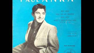 Watch Paul Anka When I Stop Loving You video