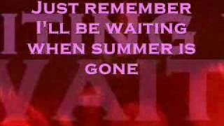 When summer is gone (Lyrics)