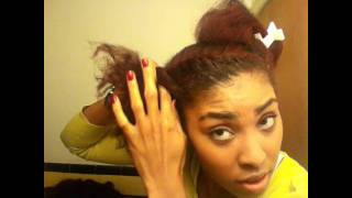 Flat Twist Protective Style Tutorial Thumbnail