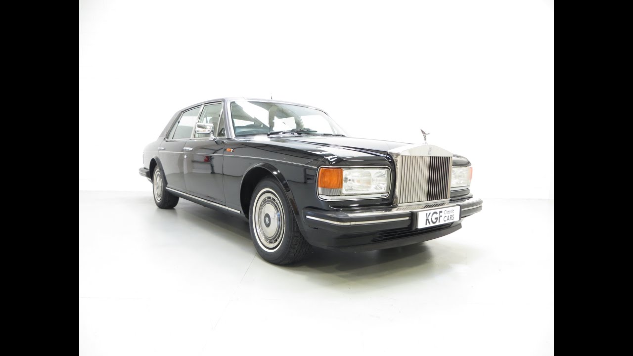 A supreme and majestic rolls royce silver spur ii with royal ownership and complete history sold youtube