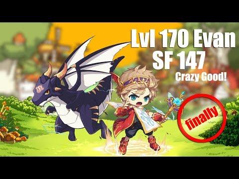 Maplestory M - Evan At Lvl 170 Is Insane!