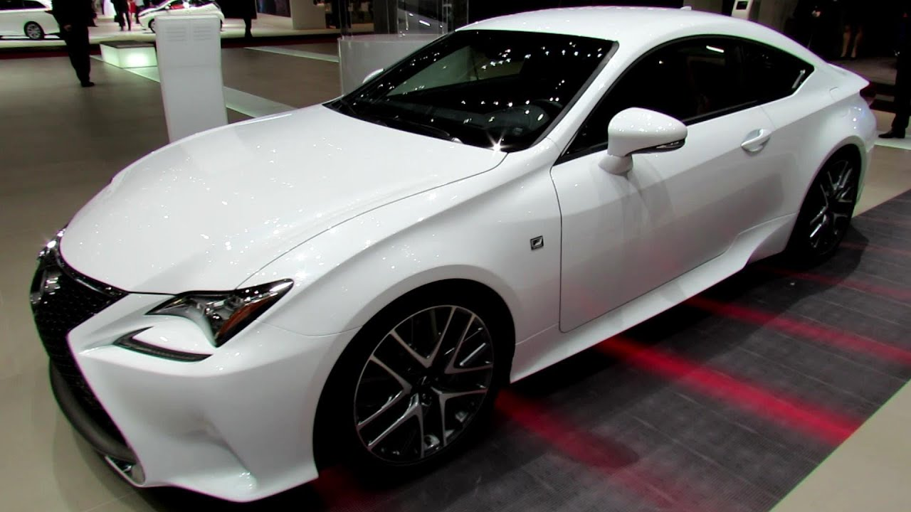 2015 Lexus Rc 350 F Exterior And Interior Walkaround 2014 Geneva Motor Show Youtube
