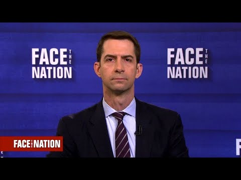 Sen. Cotton says he did not hear vulgar comments from President Trump