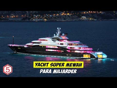Bernilai Rp 8 Triliun inilah Yacht Super Mewah Milik Milyuner Arab Misterius