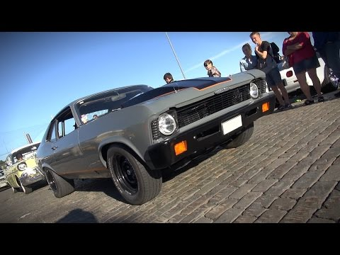 700HP Custom Chevy Nova - Insane Acceleration And Exhaust Sounds!!