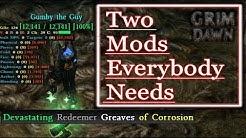 [GRIM DAWN] Two client-side Mods that everybody needs! (Grim Internals & Full Rainbow) Installation