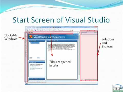 Visual Studio Tutorial - Part 1 - Overview and Layout