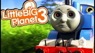 THOMAS THE TRAIN HORROR! | Little Big Planet 3 Multiplayer (138)