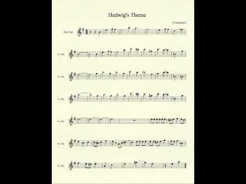 Hedwig's Theme for Alto Sax