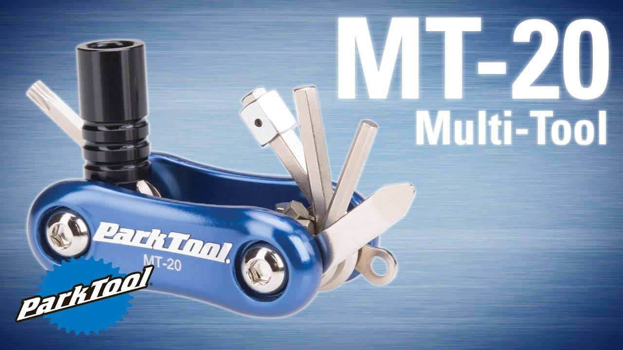 Park Tool MT-10 Multi Tool-Bicycle Tool-Folding-Blue-New